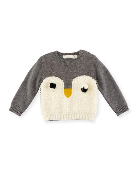 Stella McCartney Ira Knit Penguin Sweater, Size 6-36