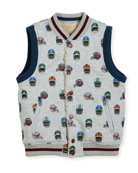 Stella McCartney Rhubarb Reversible Vest, Size 4-6