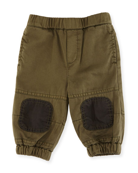 Trousers w/ Knee Patch Detail, Size 12-36 Months