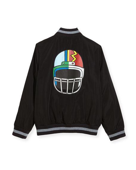 Eastwood Reversible Helmet Varsity Jacket, Size 4-6