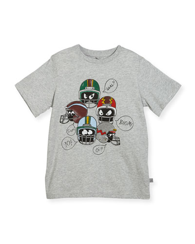 Arrow Short-Sleeve Helmet Tee, Size 4-6