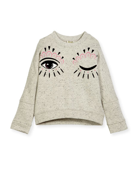 Kenzo Marbled Eye Sweater, Size 8-12