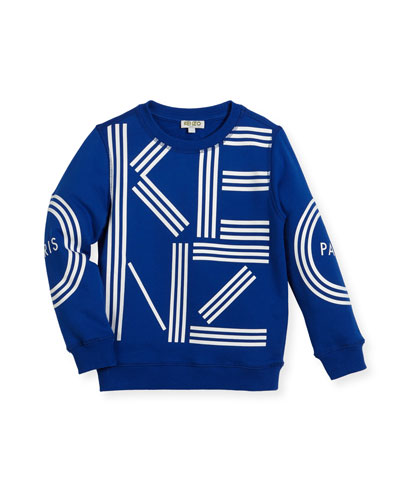 Big Logo Sweater, Size 4-6