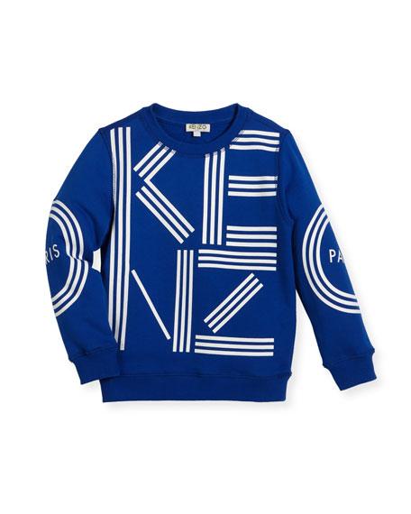 Kenzo Big Logo Sweater, Size 8-12