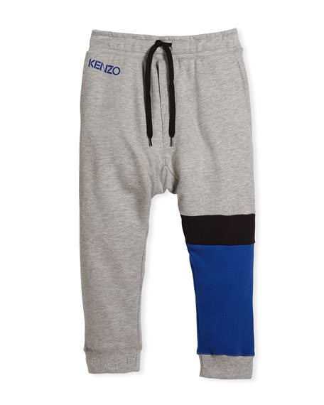 Kenzo Colorblock Sweatpants, Size 8-12 and Matching Items