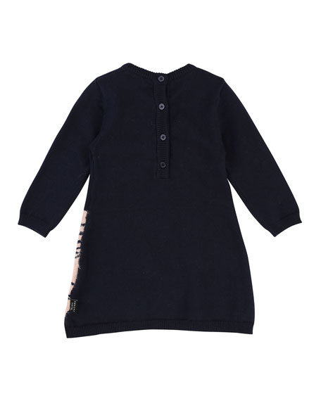 Knit Swan Dress, Size 2-3