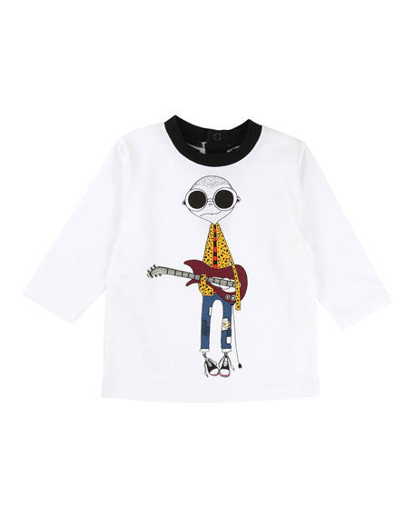 Little Marc Jacobs Mister Marc Essential Graphic Tee,