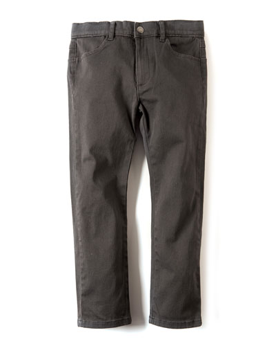 Skinny Twill Pants  Size 2-10