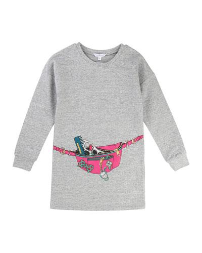 Essential Jersey Trompe l'Oeil Dress, Size 6-10