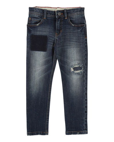 Cool Effects Denim Trousers, Size 4-5