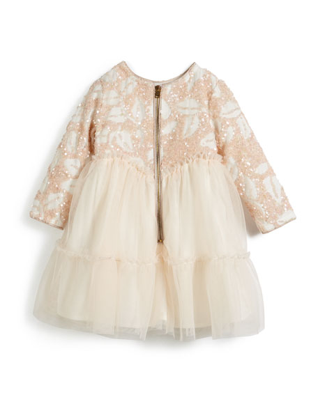 Sequin and Tulle Dress, Size 12-18 Months