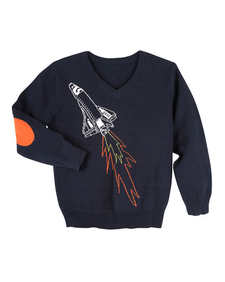 Spaceship Sweater, Size 2-7