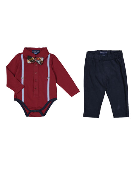 Galaxy Polo Shirtzie™ w/ Pants, Size 3-24 Months