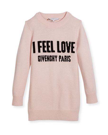 Givenchy I Feel Love Knit Dress, Size 4-5