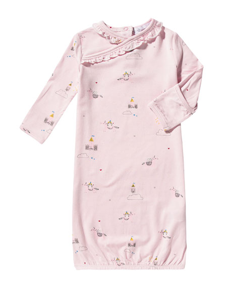 Angel Dear Unicorn Gown w Ruffles, Size 0-3