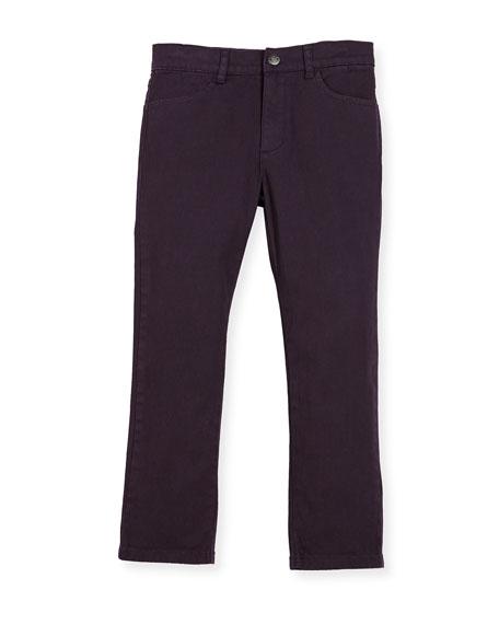 Skinny Twill Pants, Size 2-10