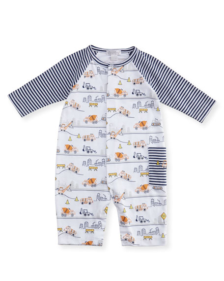 Kissy Kissy City Demo Pima Coverall, Size 3-24