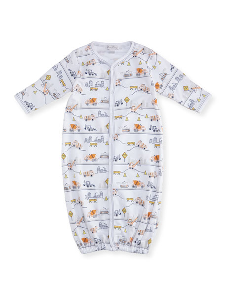 Kissy Kissy City Demo Pima Footie Pajamas, Size