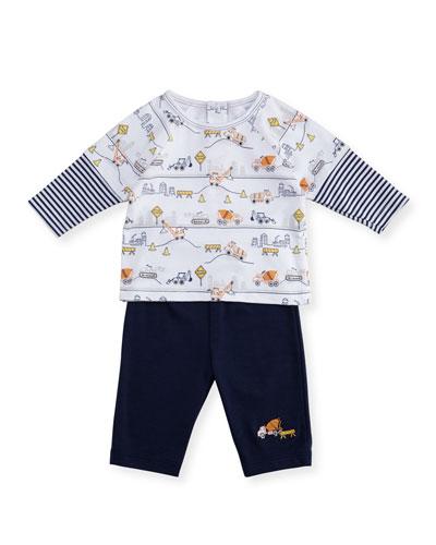 City Demo Shirt & Pant Set, Size 6-24 Months