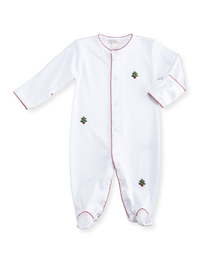 Holiday Cheer Pima Footie Pajamas, Size Newborn-9M