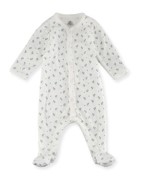 Little Chicks Printed Footie Pajamas, Size Newborn-9M