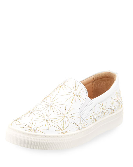 Cosmic Pearl Slip-On Sneaker, Toddler/Youth Sizes 11T-2Y