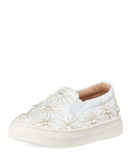 Cosmic Pearl Slip-On Sneaker, Infant/Toddler Sizes 6M-10T