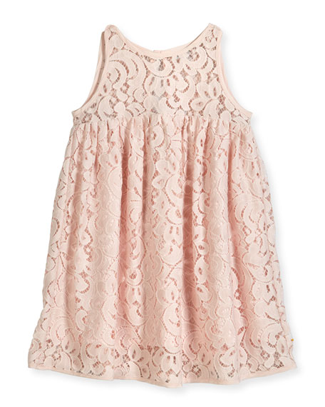 Milly Minis Lace Babydoll Dress, Size 4-7