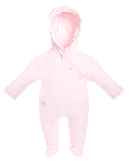 Patachou Quilted Padded Snowsuit, Size 3-9 Months