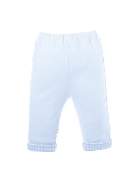 Patachou Quilted Jersey Pants, Size 3-24 Months
