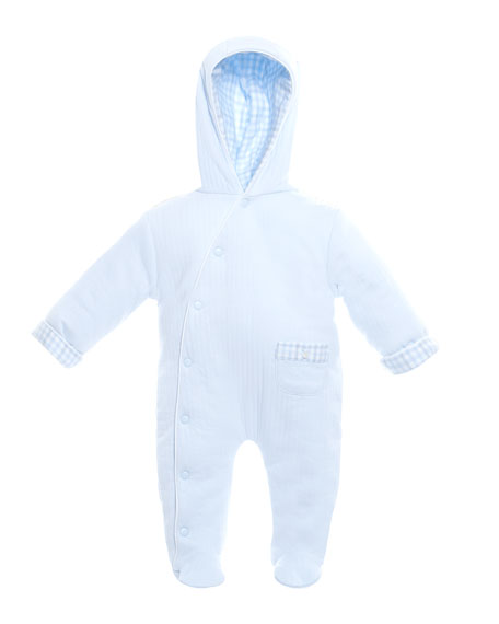 Patachou Hooded Footie Pajamas, Size 3-9 Months