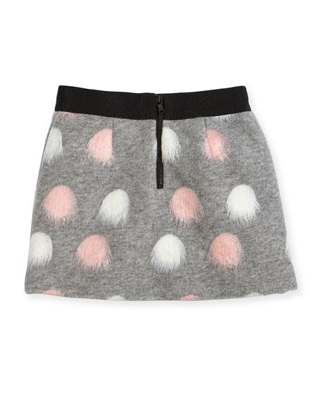 Pompom Modest Skirt, Size 8-16
