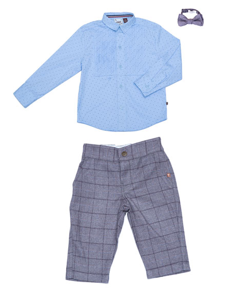 Three-Piece Suit Set, Size 3-24 Months