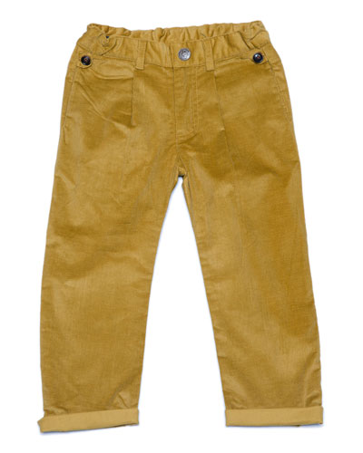 Stretch Corduroy Trousers, Size 2-8