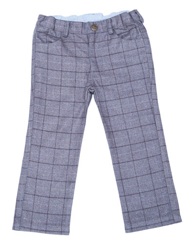 Club Plaid Pants, Size 2-8