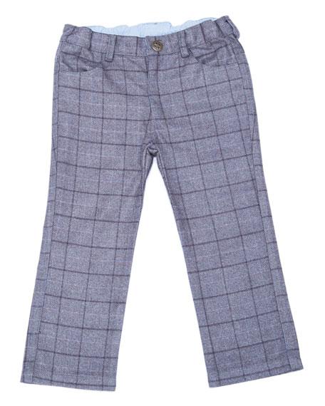 Fore Club Plaid Pants, Size 2-8