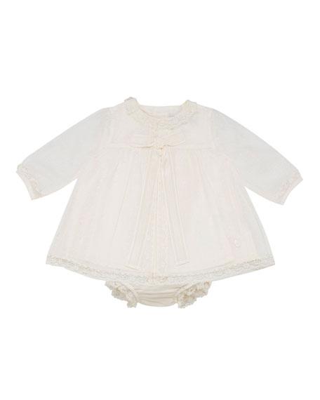 Pili Carrera Smocked Dress w/ Bloomers, Size 3-12