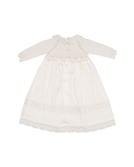 Dress w/ Sweater Top & Woven Skirt, Size 1-3 Months