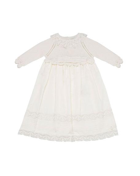 Pili Carrera Dress w/ Sweater Top & Woven