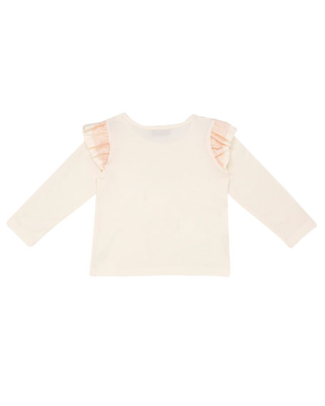 Long-Sleeve Fairy Princess T-Shirt, Size 12M-4T