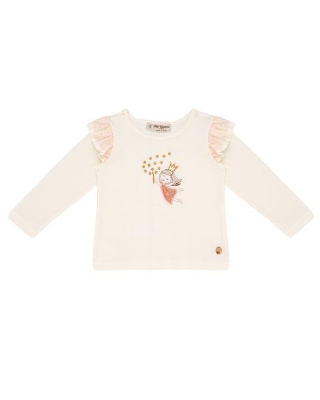 Pili Carrera Long-Sleeve Fairy Princess T-Shirt, Size 12M-4T