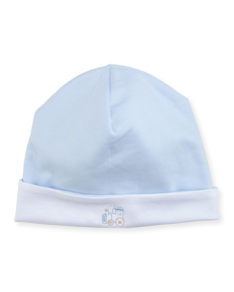 Steam Engine Pima Baby Hat