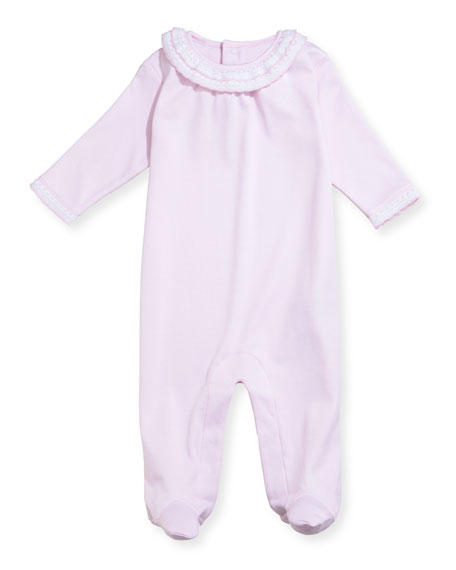 Fall Homecoming Footie Pajamas, Size Newborn-9M