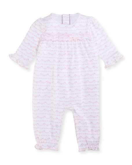 Rockabye Buggy Printed Ruffle Coverall, Size 3-24 Months