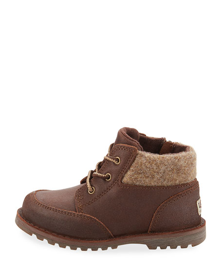 Orin Leather Hiking Boot, Brown, Toddler Sizes