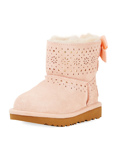 UGG Dae Sunshine Perforated Boot, Toddler