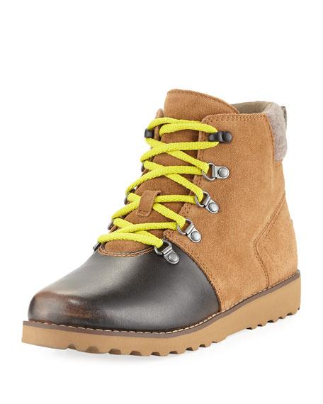 Girls' Hilmar Waterproof Suede Boot, Youth