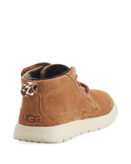 Girls' Suede Canoe Boot, Youth