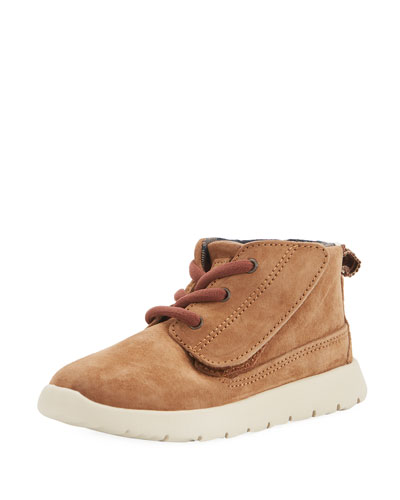 Girls' Suede Canoe Boot, Toddler Sizes 6-12