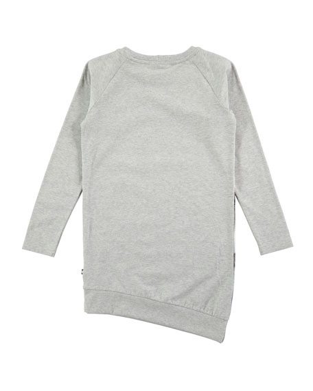 Cindelle Long-Sleeve Horse Dress, Size 2T-12